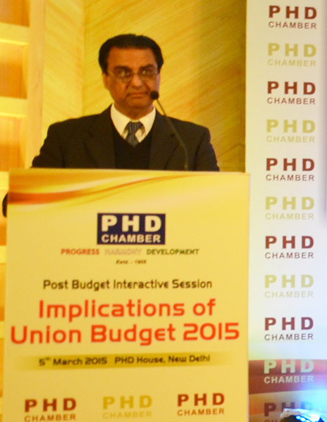AKC at Post Budget Interactive Session (March 2015)