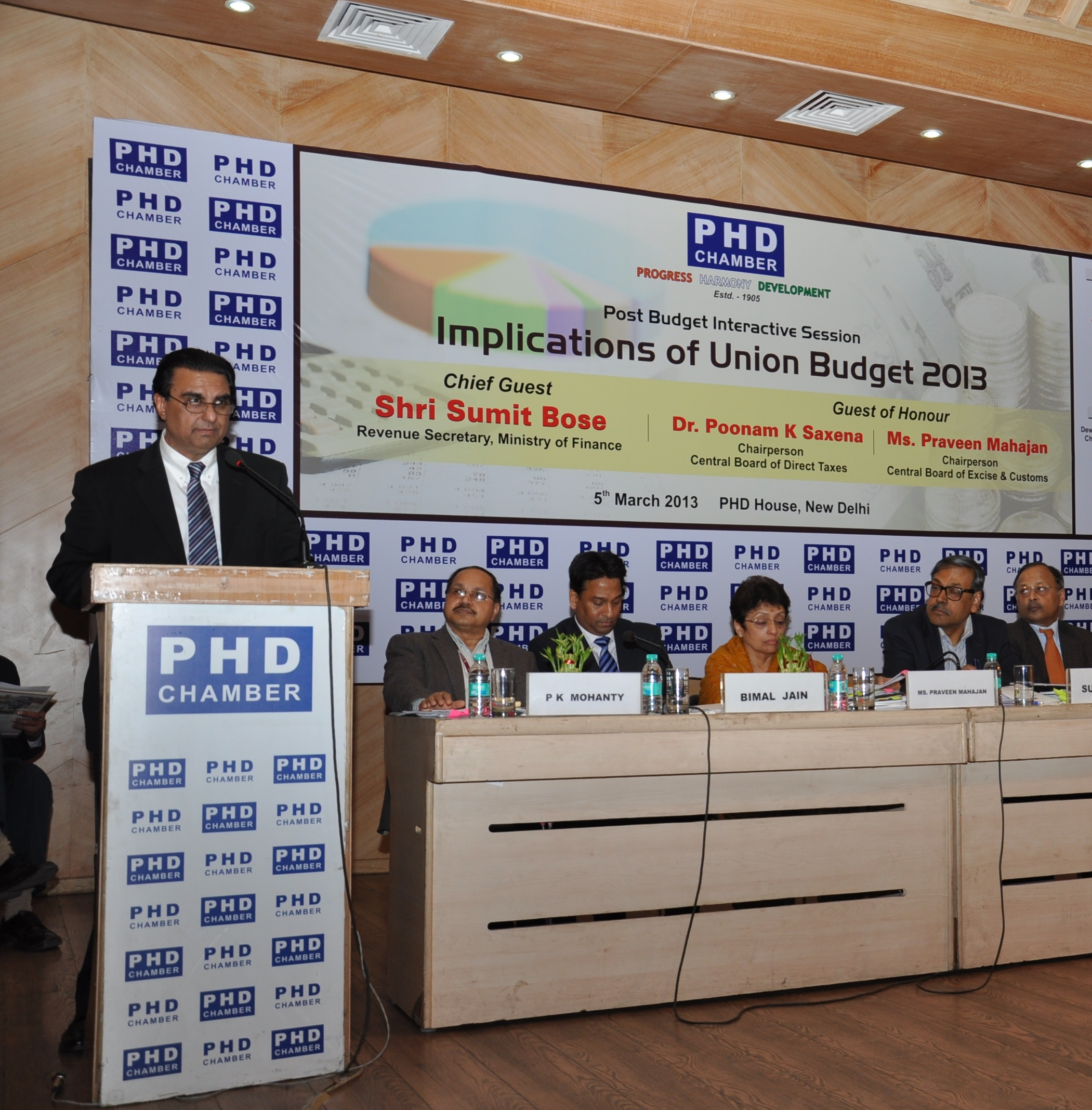 Post Budget Seminar 2013