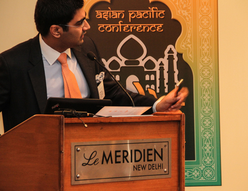 Dhruv's picture at LEA Conference